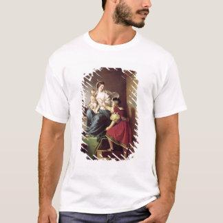 Raphael que ajusta la actitud de su modelo el suyo playera