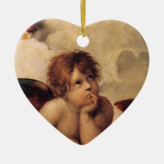 Raphael querube de Sistine Adornos