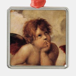 Raphael querube de Sistine Ornamentos De Navidad