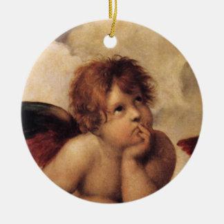 Raphael querube de Sistine Ornatos