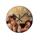 Raphael, querube de Sistine Reloj Redondo Mediano