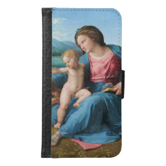 Raphael Renaissance Art Alba Madonna Samsung Galaxy S6 Wallet Case