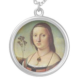 Raphael - Retrato del collar de Magdalena Doni