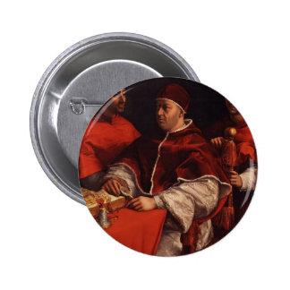 Raphael-Retratos de León X Rossi y de Julio Medici Pins