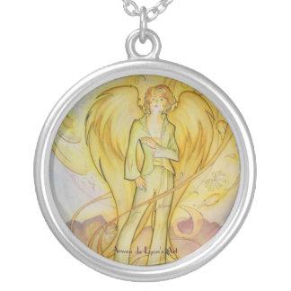 Raphael Round Pendant Necklace