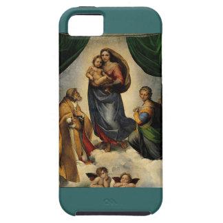 Raphael s Classic Sistine Madonna circa 1513 iPhone 5 Cases