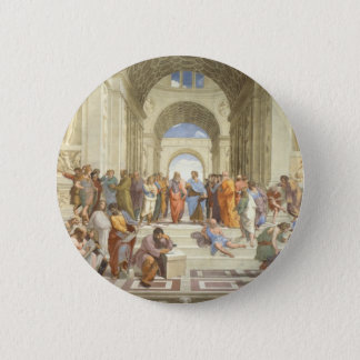 Raphael's The School of Athens Button