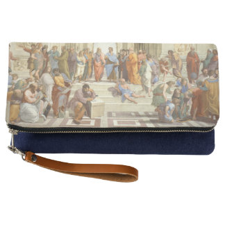 Raphael's The School of Athens Clutch
