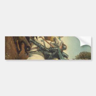 Raphael - Saint George and the Dragon Bumper Sticker