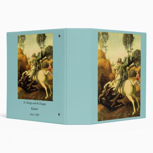 """Raphael """"San Jorge y el dragón"""" (circa 1505) Carpeta 2"""""""