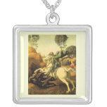 """Raphael """"San Jorge y el dragón"""" (circa 1505) Colgantes Personalizados"""