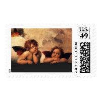 Raphael Sanzio - Angels (Detail) Stamps
