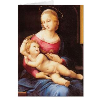 Raphael Sanzio - Bridgewater Madonna Card