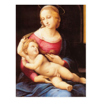 Raphael Sanzio - Bridgewater Madonna Tarjeta Postal
