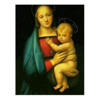 Raphael Sanzio - Madonna del Granduca Postal