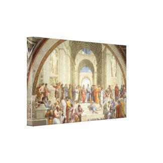Raphael - School of Athens Canvas Print