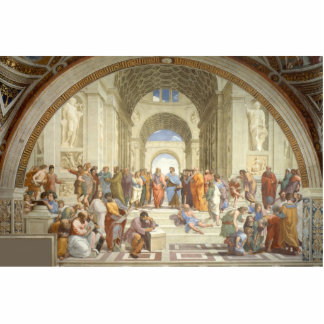 Raphael - School of Athens Cutout