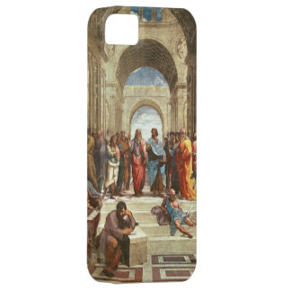 Raphael - School of Athens, famous painting iPhone 5 Covers