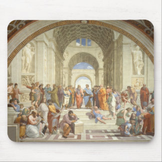 Raphael - School of Athens Mouse Pad