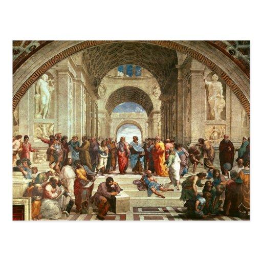 Raphael - School of Athens Postcard | Zazzle