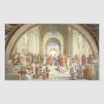 Raphael - School of Athens Rectangle Sticker