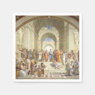 Raphael - School of Athens Disposable Napkin