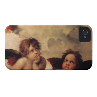 Raphael,Sistine Cherub Case-Mate iPhone 4 Case