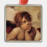 Raphael,Sistine Cherub Christmas Tree Ornaments
