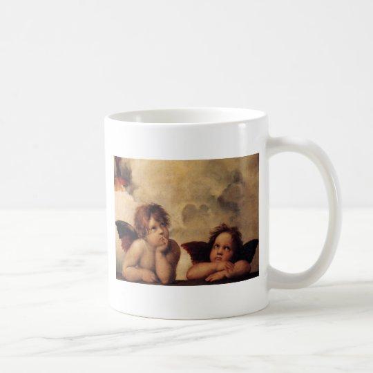 Raphael,Sistine Cherub Coffee Mug