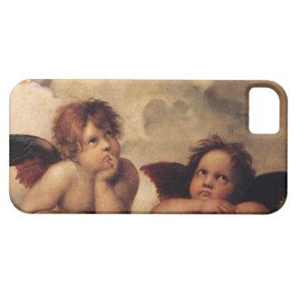 Raphael,Sistine Cherub iPhone SE/5/5s Case