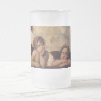 Raphael,Sistine Cherub Mugs