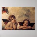 Raphael,Sistine Cherub Print