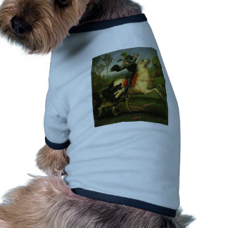 Raphael- St. George Struggling with the Dragon Dog Tee Shirt