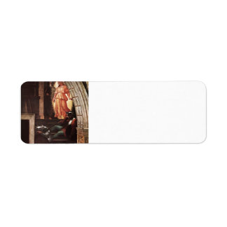 Raphael: St Peter Escapes with the Angel Custom Return Address Label