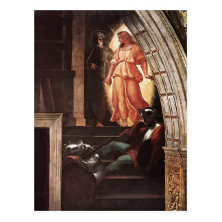 Raphael: St Peter Escapes with the Angel Post Card