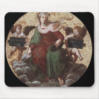 Raphael: Teología, del 'della Segnatura de la estr Tapetes De Ratón