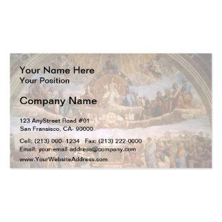 Raphael: The Disputation of the Holy Sacrament Business Card