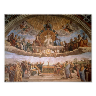 Raphael: The Disputation of the Holy Sacrament Poster