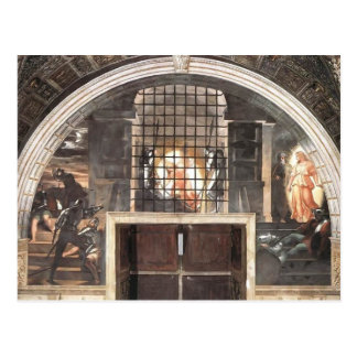 Raphael: The Liberation of St. Peter Postcards