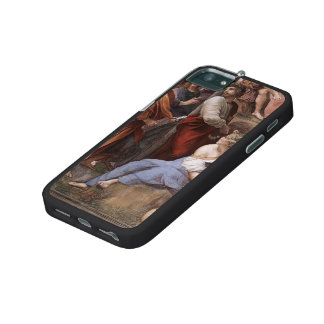 Raphael: The Parnassus, from the Stanza Segnatura iPhone 5 Cover