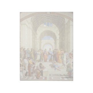 Raphael - The school of Athens 1511 Notepad