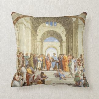 Raphael - The school of Athens 1511 Throw Pillow