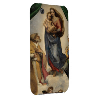 Raphael - The Sistine Madonna iPhone 3 Case-Mate Cases