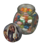 Raphael- The Sistine Madonna Jelly Belly Candy Jar