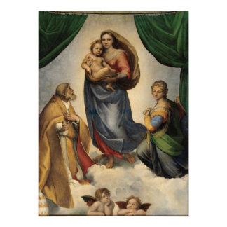Raphael - The Sistine Madonna Photo Art