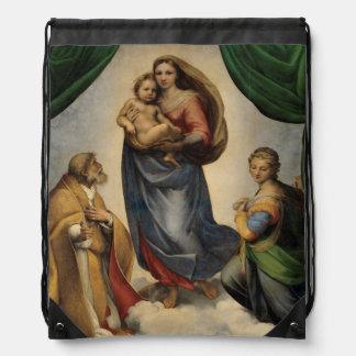 Raphael - The Sistine Madonna Cinch Bag