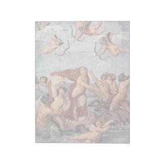 RAPHAEL -  Triumph of Galatea 1512 Notepad