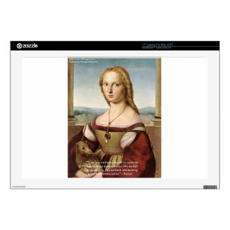 Raphael Woman W/A Unicorn Gifts & Cards Decals For Laptops