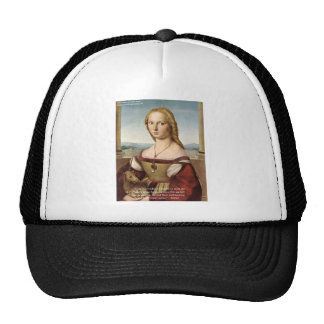 Raphael Woman W/A Unicorn Gifts & Cards Mesh Hats