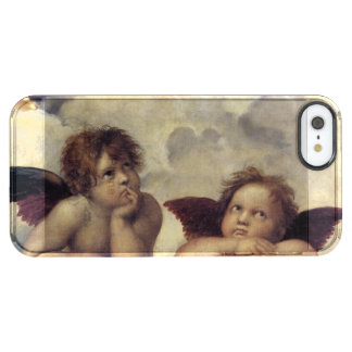 Raphael's Angels Clear iPhone SE/5/5s Case